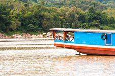 Free Long Boat. Stock Image - 22714941