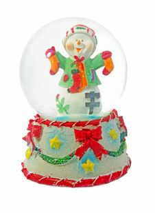 Free Snowman Toy Stock Photo - 22715610