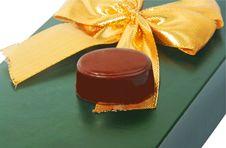 Free Gift Chocolate Stock Photo - 22715660