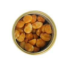 Roasted Nuts Royalty Free Stock Photo