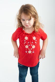 Free Girl Posing Stock Photo - 22716370