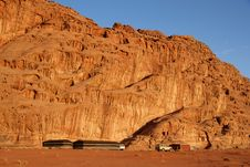 Free Tended Camp In Wadi Rum Royalty Free Stock Photos - 22716398