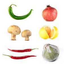 Free Fruit End Vegetables Stock Images - 22716404