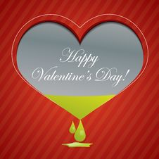 Free Red Valentine Background With Area For Text Stock Photo - 22716480