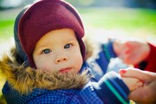 Portrait Of Little Boy Royalty Free Stock Images