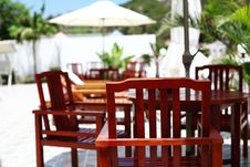 Free Chairs Of The Resort In Sanya Stock Photos - 22718343