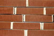 Free The Brickwork Of Matchboxes Stock Image - 22719211