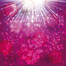 Free Cute Card On Valentine S Day Stock Images - 22720134