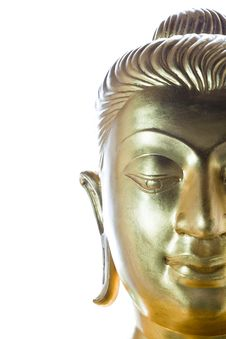 Free Buddha Statue Face Royalty Free Stock Photos - 22725228