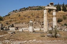 Free Roman Ruins In Ephesus Turkey Stock Images - 22726134