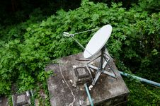 Free Satellite Dishes Stock Photo - 22729530