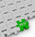 Free Years Jigsaw Puzzle Royalty Free Stock Image - 22737276