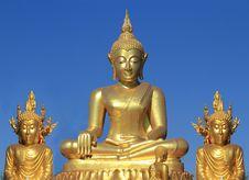 Free Buddha Statues Stock Photography - 22730212