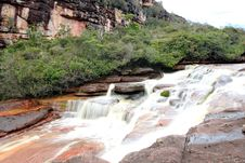 Rapids On Auantepui, Venezuela Stock Images