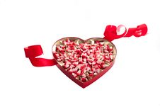 Free Valentine Corn Candy Royalty Free Stock Photo - 22733565