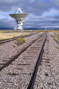 Very Large Array Stock Photo