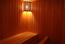 Free Light In The Sauna Stock Photo - 22740570