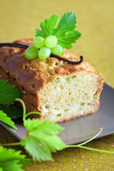 Free Grapes Cake Stock Photography - 22743132