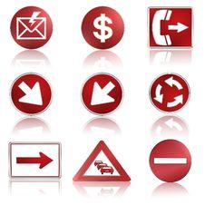 Free Icon Set Stock Photos - 22743893