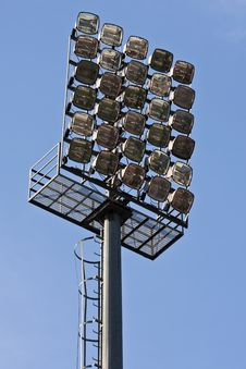 Free Stadium Lights Stock Images - 22745044