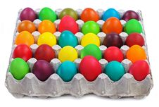 Free Easter Eggs In Carton Royalty Free Stock Photography - 22748607