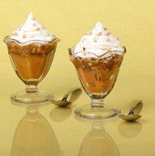 Free Butterscotch Pudding Stock Photography - 22749682