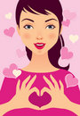 Free Love Girl Royalty Free Stock Photography - 22750327