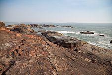 Free Beautiful Beach Of Ocean Royalty Free Stock Photography - 22751167