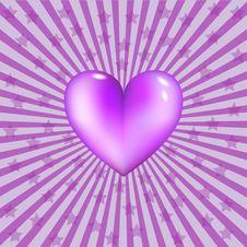 Free Retro Heart Royalty Free Stock Photos - 22752168