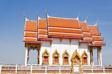 Free Thai Temple With Blue Sky Stock Images - 22752234