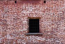 Free Window  In The Old Brick Wall Stock Photo - 22752710