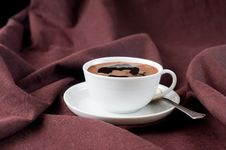 Free Cup Of Hot Coffee Stock Images - 22754074
