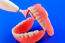 Free Refinement Of Dental Prostheses Stock Images - 22756004