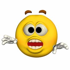 Free Emoticon - Surprised Stock Photos - 22756683