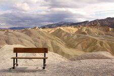Free Bench With A View Stock Image - 22757611