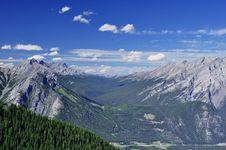 Free Ontop Of Sulphur Mountain,Banff Alberta,Canada Stock Image - 22758231