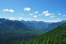 Free Ontop Of Sulphur Mountain,Banff Alberta,Canada Royalty Free Stock Photos - 22758288