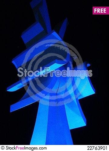 Free Obelisk In The Night Stock Image - 22763901