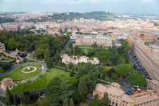 Free Vatican Gardens Stock Photography - 22761612