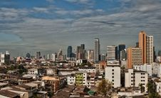 Free View Of The Daily Bangkok Stock Photography - 22762812