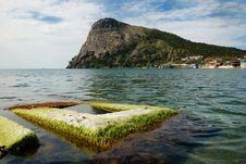 Free Green Bay Of Noviy Svet On The Crimean Coast. Stock Photo - 22766180