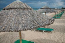 Free Empty Beach Royalty Free Stock Photo - 22772155