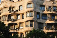 Casa La Pedrera Stock Photo