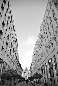 Free Old Street In Budapest Stock Image - 22772491