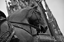 Free The Statue Of A Horse Stock Image - 22772881