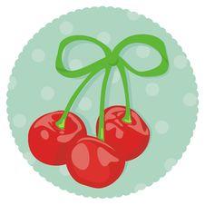 Free Cherries Royalty Free Stock Photos - 22773538