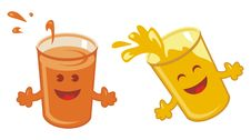 Free Orange Juice Set Royalty Free Stock Photography - 22773547