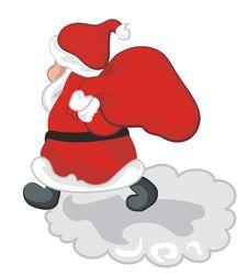 Free Walking Santa Royalty Free Stock Photos - 22773588