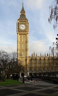 House Of Parliament With Big Ben Royalty Free Stock Image