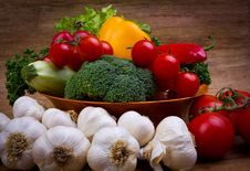 Free Fresh Vegetables Royalty Free Stock Photography - 22774677